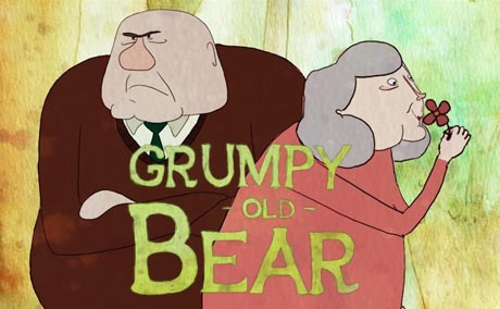 grumpy old bear